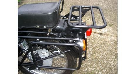 Royal Enfield Bullet 500 EFI/Classic 500 C5 Rear Rack *Does Not Fit The B5 Model*