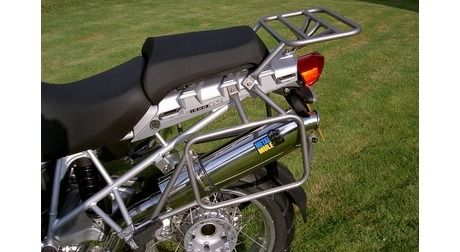 BMW R1200GS/R1200GS Adventure (Up To '13) 38L & 38L MAX Balanced Pannier System With Exhaust