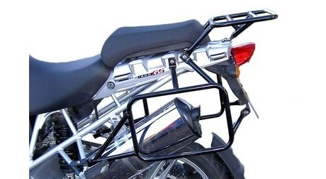 BMW R1200GS/R1200GS Adventure (Up to '13) 45L & 45L UTE Balanced Pannier System with Exhaust