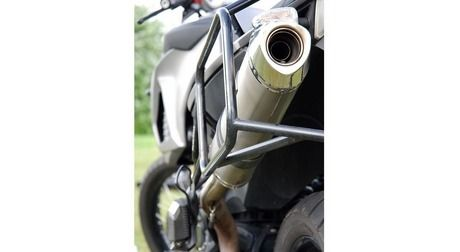 BMW F650GS Twin/F800GS 38L & 38L UTE Balanced Panneir System with Exhaust