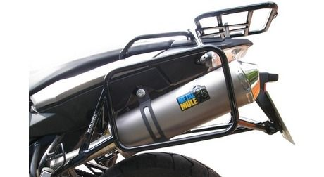 BMW F650GS Twin/F800GS 38L & 38L MAX Balanced Pannier System With Exhaust
