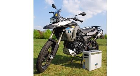 BMW F650GS Twin/F800GS 31L & 31L UTE Balanced Pannier System with Exhaust