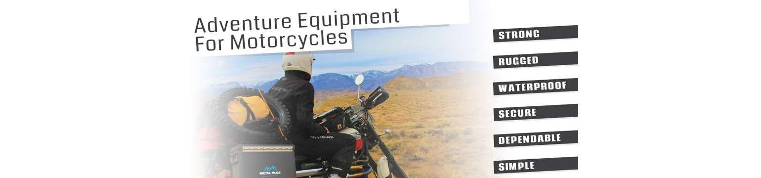 Adventure Equipment for Motorcycles